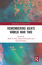 Remembering Asia's World War Two