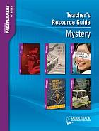 Teacher's resource guide : mystery.