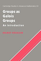 Groups as Galois groups : an introduction