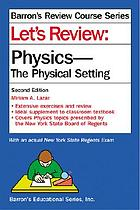 Lets Review Physics-The Physical Setting