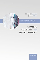 Women, culture, and development : a study of human capabilities