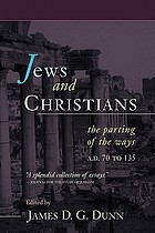 Jews and Christians : the parting of the ways, A.D. 70 to 135 ; the Second Durham-Tübingen Research Symposium on Earliest Christianity and Judaism (Durham, September 1989)