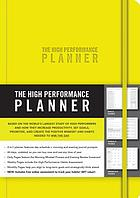 HIGH PERFORMANCE PLANNER [YELLOW].