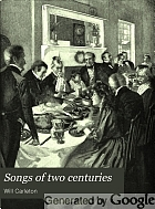 Songs of two centuries,