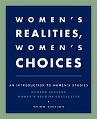 Women's realities, women's choices : an introduction to women's studies