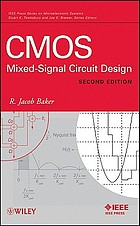 CMOS : mixed signal circuit design