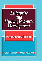 Enterprise and human resource development : local capacity building