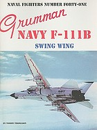 Grumman navy F-111B swing wing