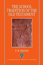 The school tradition of the Old Testament : the Bampton lectures for 1994