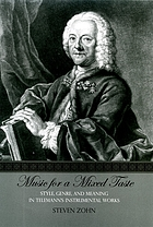 Music for a mixed taste : style, genre, and meaning in Telemann's instrumental works