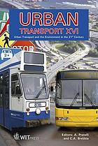 Urban transport XVI : urban transport and the environment in the 21st century
