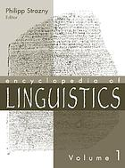 Encyclopedia of linguistics