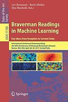 Braverman readings in machine learning : key ideas from