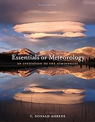 Essentials of meteorology : an invitation to the atmosphere