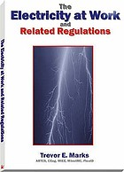 Electricity at work and related regulations.