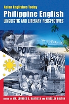 Philippine English : linguistic and literary perspectives