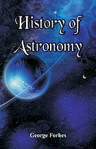 HISTORY OF ASTRONOMY.