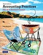 Accounting practices : the New Zealand context