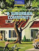 A suburban community of the 1950s