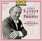 Gyorgy Sandor plays Prokofiev : Complete solo piano music. Volume 2.