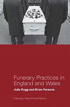 Funerary practices in England and Wales