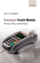 Consumer credit models : pricing, profit, and portfolios