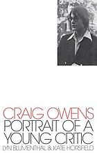 Craig Owens : portrait of a young critic