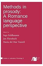 Methods in prosody : a romance language perspective