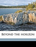Beyond the horizon : a play in three acts