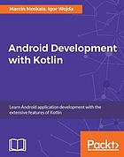 Android Development with Kotlin.