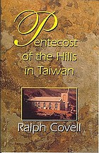 Pentecost of the hills in Taiwan : the Christian faith among the original inhabitants