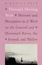 Thoreau's morning work : memory and perception in