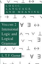 Logic, language, and meaning