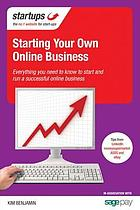 Starting your own online business