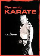 Dynamic karate; instruction by the master.
