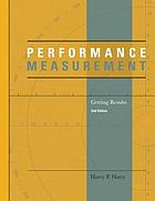 Performance measurement : getting results