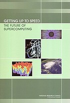Getting up to speed : the future of supercomputing
