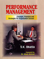 Performance management : concepts, practices and strategies for organisation success