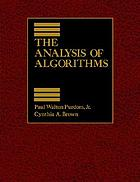 The analysis of algorithms