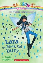 Lara the black cat fairy