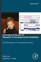 Early development in neurogenetic disorders