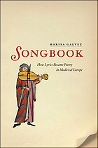 Songbook: how lyrics became poetry.