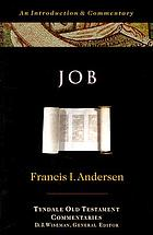 Tyndale Old Testament commentaries : Job : an introduction and commentary