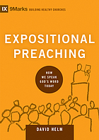 Expositional preaching : how we speak God's word today