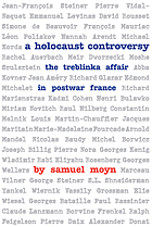 A Holocaust controversy : the Treblinka affair in postwar France