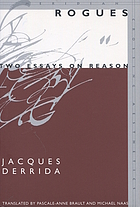 Rogues : two essays on reason