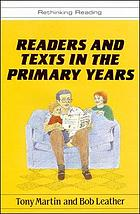 Readers and texts in the primary years