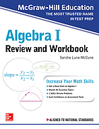 Algebra I review and workbook