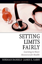 Setting limits fairly : learning to share resources for health
