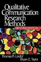 Qualitative communication research methods
